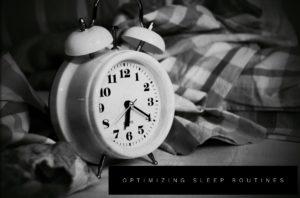 optimizing sleep routines